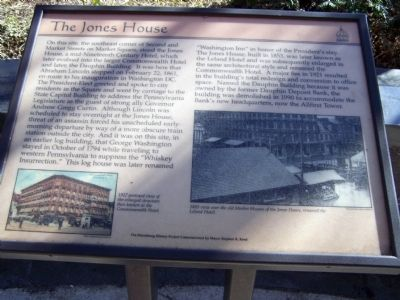 The Jones House Marker image. Click for full size.