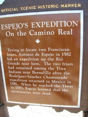 Espejo's Expedition Marker image. Click for full size.