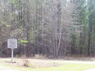 Antioch Christian Church Marker, along SC 3 image. Click for full size.