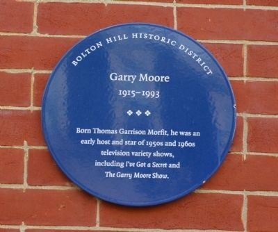 Garry Moore Marker image. Click for full size.