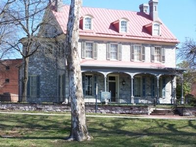 Harris Mansion image. Click for full size.