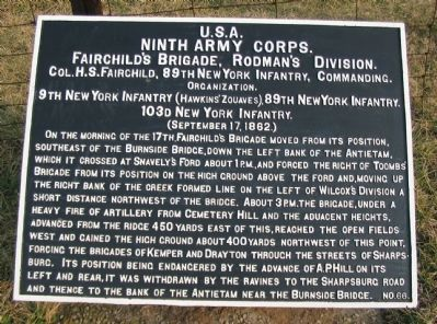 Fairchild's Brigade Tablet image. Click for full size.