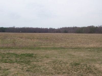 View of the former Columbia Air Center site, west of marker image. Click for full size.