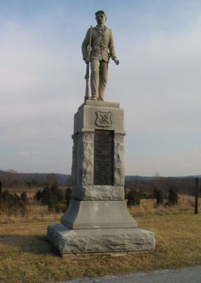 51st Pennsylvania Volunteer Infantry Monument image. Click for full size.