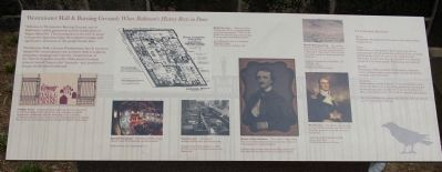 Westminster Hall & Burying Ground: Where Baltimore's History Rests in Peace Marker image. Click for full size.