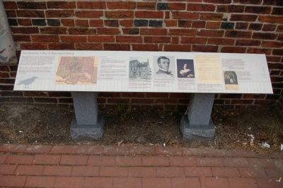 Poe's Baltimore: A Place of Beginnings and Endings Marker image. Click for full size.