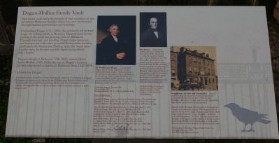 Dugan-Hollins Family Vault Marker image. Click for full size.