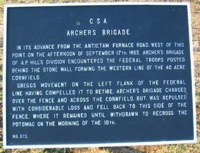 Archer's Brigade Tablet image. Click for full size.