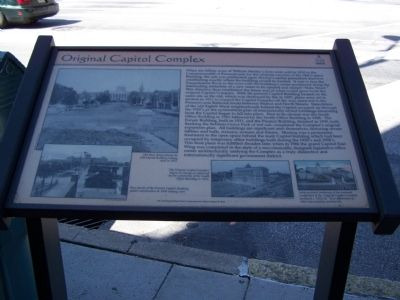 Original Capitol Complex Marker image. Click for full size.
