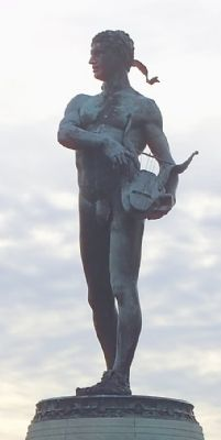 <i>Orpheus with the Awkward Foot</i> by Charles H. Niehaus image. Click for full size.