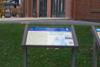 Baltimore Regional Trail - A House Divided Marker image. Click for full size.
