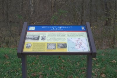 Monocacy Aqueduct Marker image. Click for full size.