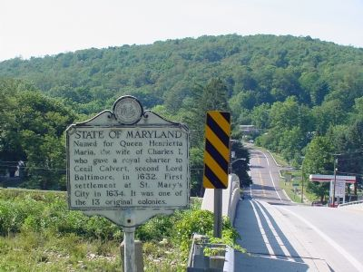 State of Maryland Face of Marker image, Touch for more information