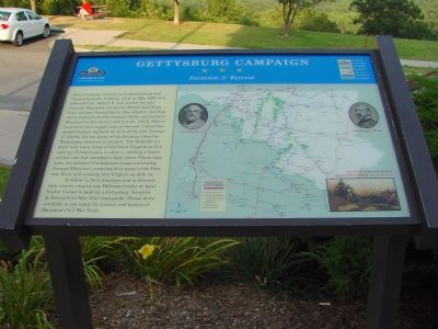 Gettysburg Campaign - Invasion & Retreat Marker image. Click for full size.