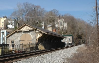 B&O Railroad Station, Now a Museum image. Click for full size.