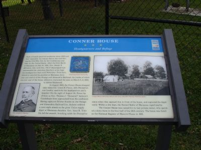 Conner House Marker image. Click for full size.