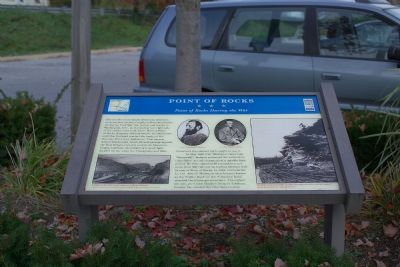 Point of Rocks During the War Marker image. Click for full size.
