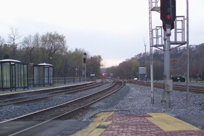 Point of Rocks Junction, Viewed from the Station image. Click for full size.