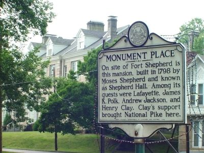 Monument Place Marker image. Click for full size.