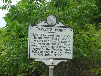 Roney's Point Marker image. Click for full size.