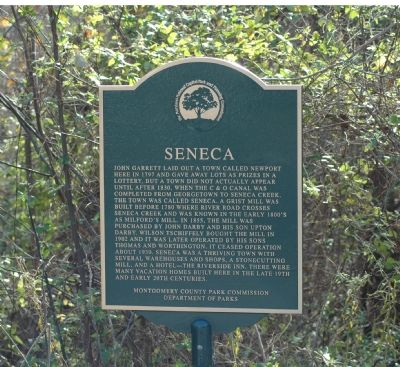 Seneca Marker image. Click for full size.