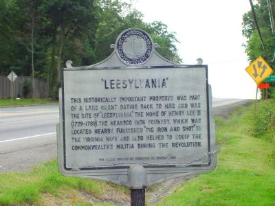 """Leesylvania"" Marker image. Click for full size."