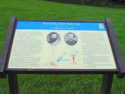 Bucklland Races Marker image. Click for full size.