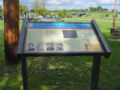 Fisher's Hill and Yager's Mill Marker image. Click for full size.