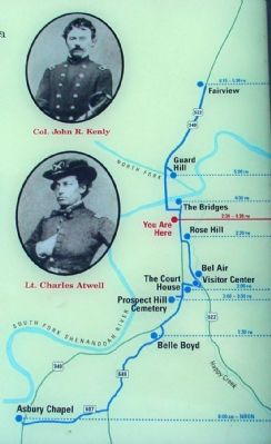 Detail of Map on Marker image. Click for full size.