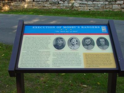 Execution of Mosby's Rangers Marker image. Click for full size.