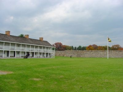 Inside Fort Frederick image. Click for full size.