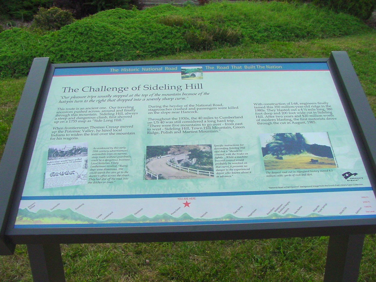 The Challenge of Sideling Hill Marker