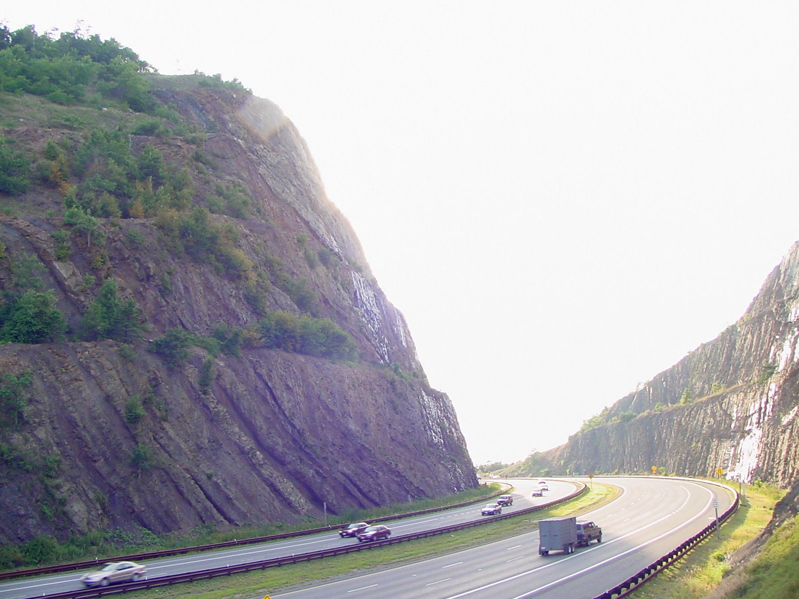 Sideling Hill Cut South Bench