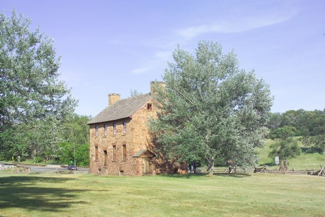 The Old Stone House as Seen from the Marker image. Click for full size.