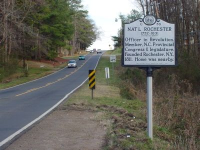 Nat'l Rochester Marker image. Click for full size.