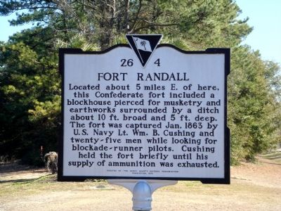 Fort Randall Marker image. Click for full size.