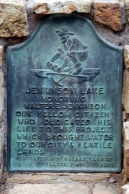 Jenkinson Lake Marker image. Click for full size.