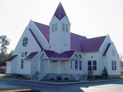 Socastee Methodist Church Present Sanctuary image. Click for full size.