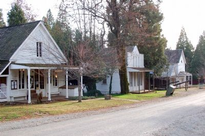 Malakoff Diggins Historical Buildings image. Click for full size.