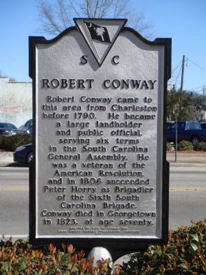 Robert Conway Marker image. Click for full size.
