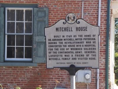 Mitchell House Marker image. Click for full size.
