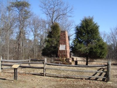 Second Bull Run Monument and Marker image. Click for full size.