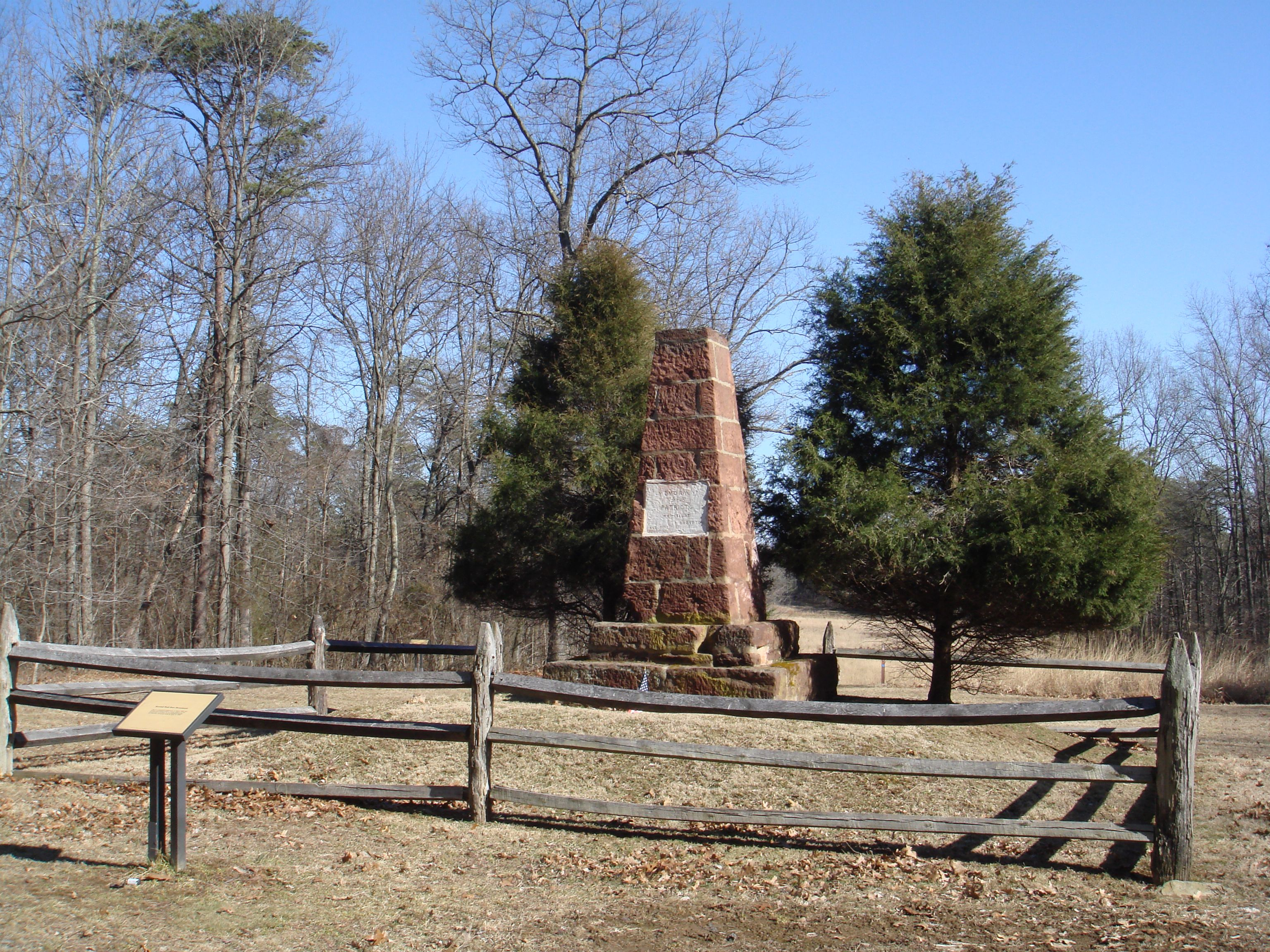Second Bull Run Monument and Marker