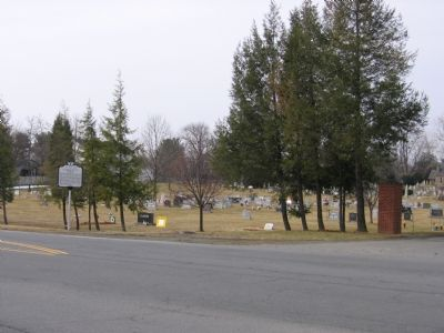 Entrance to Union Cemetery image. Click for full size.