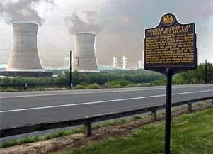 Nuclear Accident at Three Mile Island Marker image. Click for full size.
