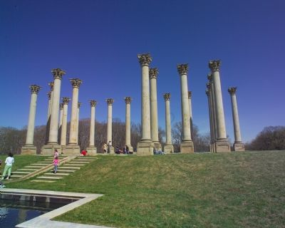 National Capitol Columns image. Click for full size.