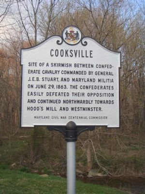 Cooksville Marker image. Click for full size.