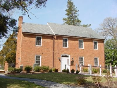 Major Burgee House, Now The Welcome Center image. Click for full size.