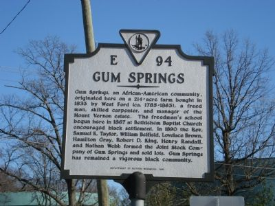 Gum Springs image. Click for full size.