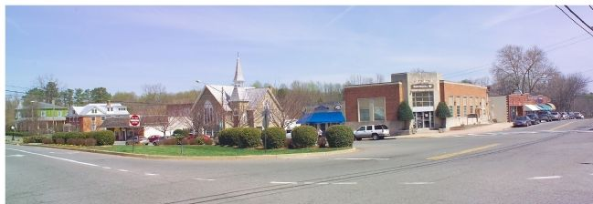 Washington Street in Leonardtown image. Click for full size.